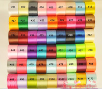 """Wholesale Wedding Packing Decorations - 15% off 2015 new 2""""(50mm) single face satin ribbon,25yards roll .Wedding Decoration ribbon gift packing belt 250yards drop shipping"""