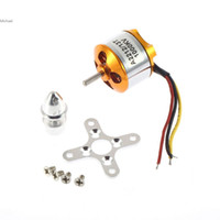 Wholesale Quadcopter Outrunner Motors - 4x A2212 1000Kv Brushless Outrunner Motor For Airplane for Aircraft F330 F450 F550 for Quadcopter Fashionzon US02 Free Shipping