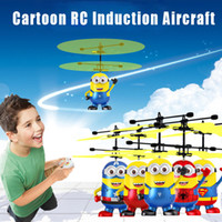 Cute Led brinquedo RC Drone Avião Flying Induction Noctilucent Ball Helicopter Drones Sensor Up grau infravermelho Plane Xmas Kids Toys Gifts