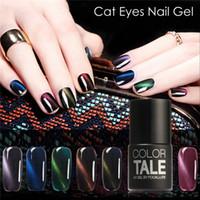 Wholesale Nails Ge - Wholesale- FOCALLURE UV Gel Colors Ge Nail Polish Soak-off Long Lasting Nail Manicure Nail Art UV Gel 3D Magnetic Gel Colors
