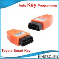 Wholesale Obd Toyota Smart Key Maker - 2017 Best price Toyota Smart Key Maker Toyota OBD car key programmer One Year Warranty Free Shipping