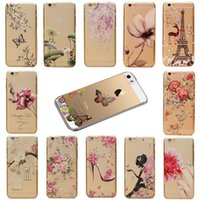 "Wholesale Iphone 5c Colorful Case Cover - Wholesale-New Arrival Cover Protector For Apple iPhone 5C 4.0"" Colorful Flower Girls Pattern Transparent Cartoon Skin Back Hard Case"