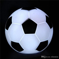 Wholesale Wholesale Football Lamps - Colorful LED Football Night Light LED Soccer Light Color Changing Football Lamp Kids Room Party Holiday Decoration Children's Gift for Sale