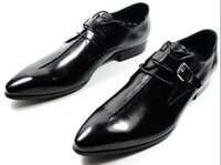 Wholesale New Style Man Dress Shoes - NEW 2014 Italian Style luxury men shoes genuine leather pointed toe men dress shoes business men brand oxfords size 37-45