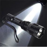 Wholesale Led Flashlight Uniquefire - NEW ARRIVAL~~ Stainless Steel Head UniqueFire HS-802 802 CREE XM- L2 Q5 500Meters Long Range LED Flashlight Torch