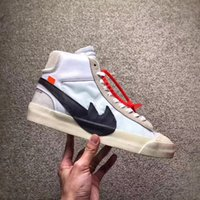 Wholesale Lace White Blazer - 2018 The Ten Off White X Virgil Abloh x Blazer Blazer Mid Men Running Sneakers The 10 Best Quality With Original Box