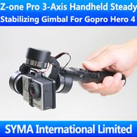stabilizing bar - Z one Pro Axis Handheld Stabilizing Steady Gimbal For Gopro Hero with m Remote Control Cable cm Extension Bars