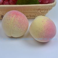 Wholesale peach fruit decorations for sale - Group buy Home decor Large peach cm cm simulation Peach Artificial Fake Fruit Craft Ornament for Wedding Party House Decoration photography props
