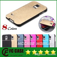 Wholesale Metal Case For Galaxy - Luxury Aluminum Metal Brush Case Hard Back Cover For iPhone 4 5 5S 6 Plus Galaxy S5 S6 NOTE 4 A5 A7