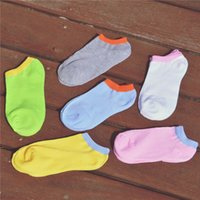 Wholesale Cute Socks Price - Wholesale-2015 Lowest Price Women Socks solid Color Candy Color Boat Socks Cute Style Cotton Short Casual Wholesale