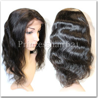 Wholesale Straight Human Wigs - Brazilian Human Hair Full Lace Wig Cheap Price Virgin Remy Straight Body Wave Deep Wave Full Lace Hair Wig With Baby Hair