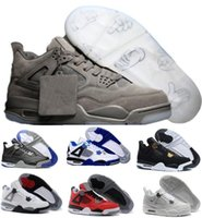 Wholesale Real Discount - Discount Basketball Shoes 4 Women Men Sports Sneakers Sale Shoes 4s IIII Man Zapatillas Authentic Original Real Replic