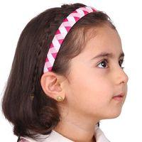 kafa bandı paketleri toptan satış-Kızlar Saç Aksesuarları 6 Paket El Yapımı Grogren Kurdele Kaplı Çocuklar Kısa Uzun Saç Moda Saç Bantları için Bantlar