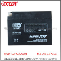 Wholesale Suzuki Batteries - GT4B-5-BS YT4B-5(MF) Motorcycle Battery FOR Yamaha SR400 TTR50 Suzuki DR-Z70 12v 2.3Ah (only sale to USA AU) free shipping