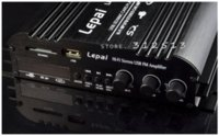 Lepai LP-269TS 4 CH 12V MMC USB SD Stereo jogador Hi-Fi MP3 FM Car Audio Amplificador 1pcs M40098