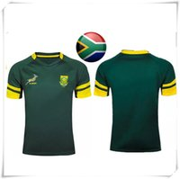 Wholesale Cheap Football Team Shirts - (With Logo & name) 2016 AIG Super IWC SOUTH AFRICA Rugby jersey England football shirt teams Sport free shipping Hot Sale Wholesale Cheap