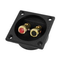 Compra Sconto Caselle Quadrate-Square 2 Binding Post Terminal Box Sub Subwoofer Sconto 50