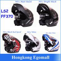 ls2 objektiv großhandel-100% Echte Neue Helm LS2 FF370 Motocross Helm Motorrad LS2 Helm Doppel Objektiv FF370 Neueste Version Haben Tasche H2876