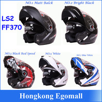 Wholesale Helmet Double D - 100% Genuine New Helmet LS2 FF370 Motocross Helmet Motorcycle LS2 Helmet Double Lens FF370 Latest Version Have Bag H2876