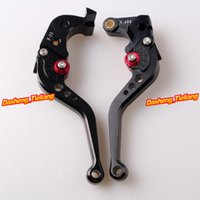 Wholesale Aprilia Brakes - Motorcycle Short Brake Clutch Levers for Honda 2007-2012 CBR 600RR F5 & 2008-2012 CBR1000RR 1000 RR order<$18no track