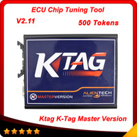 Wholesale Programme Ecu - 2015 K TAG ECU Programming Tool V2.11 Compatible Auto KTAG K-TAG ECU Prog Tool Master Version via 500 tokens free shipping