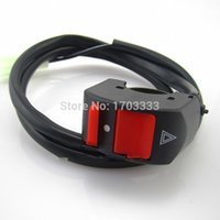 Wholesale Bike Handlebar Button - Motorcycle ATV Bike Handlebar Kill Stop Switch ON OFF Button 12V 10A Free shipping