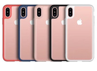 Wholesale iphone pink silicone case online - For iPhone Plus X Ultra Slim TPU Clear Cellphone Case Silicone Mobile Protective Cover for iPhone