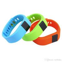 pulsera bluetooth achat en gros de-TW64 Bluetooth 4.0 Bracelet Smart Fitness Tracker Activité Intelligente Bracelet de Bande pour Android iOS Pulsera Inteligente Smart Bracelets