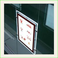 Wholesale A3 Led Light Box - A3 LED Window Light Pocket Panel Estate Agent Display Double Sided Portrait
