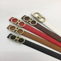 Wholesale Mens Leather Trouser - 2017 Designer Belts Men High Quality Leather Mens Belt Luxury 100% genuine leather Smooth buckle Belts For men's trousers