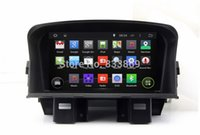 """Wholesale Cruze Dash - 1024*600 Quad-Core Capacitive touch screen 7"""" Android 4.4 Car DVD Radio for Chevrolet Cruze 2008-2011 With GPS 3G WIFI BT IPOD TV AUX IN"""