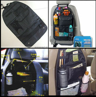 Car Back Seat Organizer Collector recipiente de armazenamento multi-Pocket Utility Vehicle Auto Grocery Oxford pano sacos de viagem Compartimento Bolsa