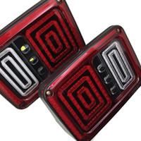 ingrosso sostituzione della luce del freno principale-Luci di retromarcia a LED con retromarcia, freno, segnale di retromarcia, retromarcia, con spine standard europee per 07-15 JEEP JK WRANGLER luce di ricambio per auto