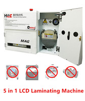 Wholesale Vacuum Lcd - OCA OMAG Glass Lens Touch Screen LCD 5 In 1 Plate Type Laminating Machine Repair Tool No Bubble No Need Vacuum Pump & Air Compressor & Mold