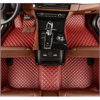 Wholesale Weather Floor Mats - Special Custom fit car floor mats for Mitsubishi Lancer ASX Pajero sport V73 V93 3D car styling all weather carpet floor liner