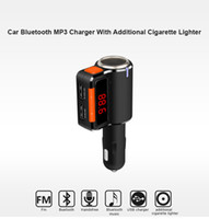 Wholesale Multi Charger Radio - 2016 New Original BC09 Multi Function Bluetooth Car Kit Mp3 Player Charger Wireless FM Transmitter Modulator Dual Usb Aux 100pcs lot