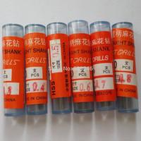 Wholesale Electric Pcb Drill - 60pcs Lot Mix Size Micro HSS 0.3-0.8mm High Speed Straight Shank Mini Twist HSS Steel Drill Bit Tools,Electric Drill Ferramentas A3