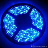 Wholesale 335 White - NEW RGB COLOR SMD 335 LED Strip Light DC12V 5M Glue Waterproof IP65 120leds m 600leds Totally Side Emitting Lighting