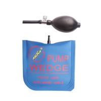 Wholesale Open Wedges - Door Open Tool KLOM Middle Size Air Wedge Air Pump Wedge Inflatable Unlock Tool Locksmtih Tools Blue 165mm *150mm