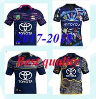 Wholesale black cowboy shirt - 1718 New Zealand NRL Indigenous Camouflage Rugby jerseys 17 RWC NRL Super North Queensland Cowboys Rugby jersey Shirt fast shipping