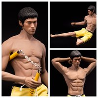 Wholesale Strong Products For Men - Phicen PL2016-M32 Strong Asian Men Bruce Lee Body + Shorts for Action Figure DIY