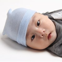 Wholesale Hospital Sales - SALE! Hospital Cute Newborn Baby Infant First Hairbow Girl Toddler warm Comfy Bowknot Hospital Cap Beanie Hat Knit Cap 10pcs