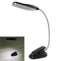 Wholesale Desk Lamp Flexible - Flexible USB   Battery Power 28 LED Light Clip-on Bed   Table   Desk Lamp EGS_371