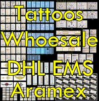 Wholesale Waist Ems - 100pcs lot Temporary Tattoo Wholesale High Quality Waterproof Flash Metallic Tattoos Gold Jewelry Tattoo, Ship By DHL FEDEX Aramex EMS