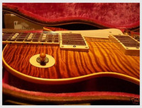 Wholesale Hollow Body Electric Guitar Sunburst - New Beautiful hot sell 1993 98 LES R8 MURPHY AGED KILLER REISSUE electric guitar in stock