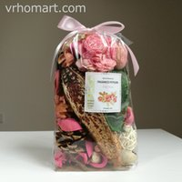 Wholesale Potpourri Bags - Ever rose opp bag Primitive Bowl Fillers Potpourri dried flowers petals Decorative scented batanical flowers hotel decor art