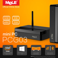 Wholesale Original Mini PC MeLE PCG03 Genuine Windows Quad Core Intel Atom Z3735F GB DDR3 GB eMMC HDMI VGA LAN WiFi Bluetooth