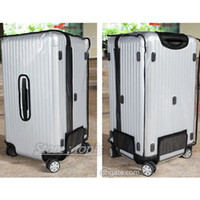 Wholesale Protective Covers For Luggage - Clear Protective Skin Cover Protector for RIMOWA Topas Sports Luggage 92075 92375 92380 Salsa Sports 81075 81080 81175 81180 water proof