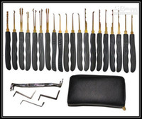 serrure pick gun livraison gratuite achat en gros de-Verrouiller Picks ensemble, outils de serrurier, padlcok tool.cross pick.pick gun 20pcs livraison gratuite