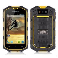 Wholesale Dual Core Ip67 - Military Manufacturing Dual sim Humer H5 Smart android rugged mobile phone unlocked waterproof phone IP67 Dual Core MTK6572